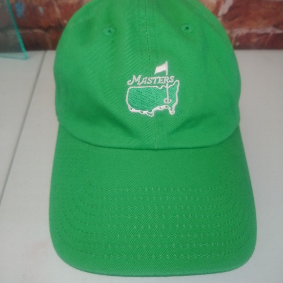 9677347874ac2 American Needle Other - Masters Logo Hat Ball Cap Slide Back American Need